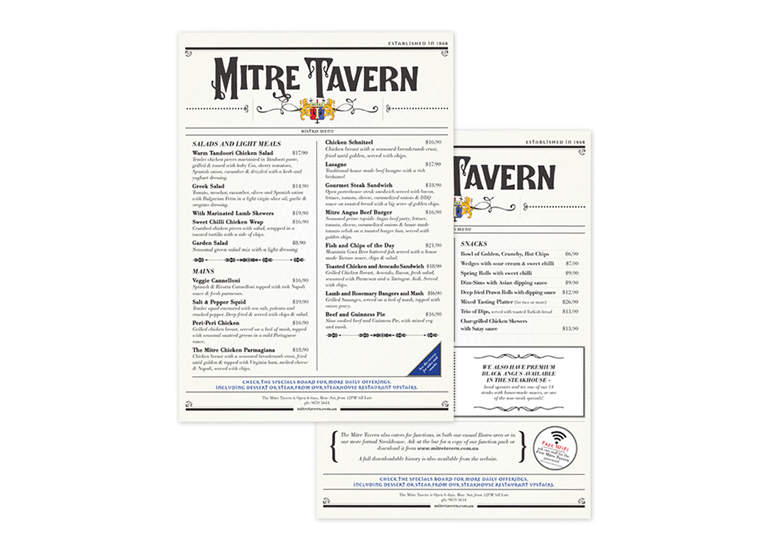 the-mitre-tavern-menu