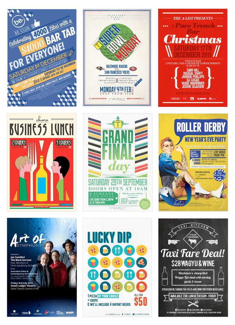 melbourne poster design