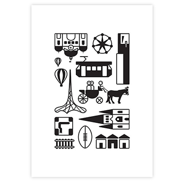 icons-of-melbourne-poster