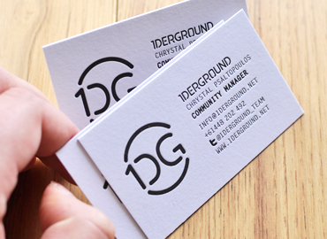 1derground-business-cards