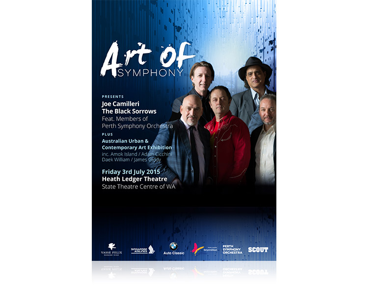 Poster design for Art of Symphony in Perth