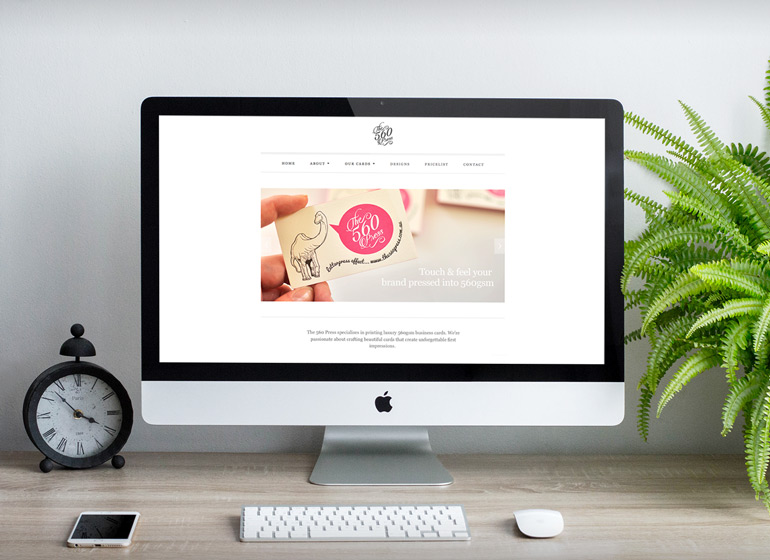 Customisation of Shopify theme for The 560 Press website