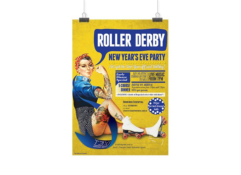 roller-derby-poster-design-melbourne